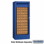 Rotary Mail Center (Includes Master Lock) - Brass / Americana Style - Private Access