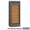 Salsbury 3150SLU Rotary Mail Center Brass Style Slate (Mailboxes Sold Separately)