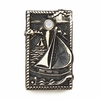 Whitehall Sailboat Doorbell (Solid Brass) - Verdigris Finish
