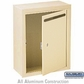 Salsbury 2240SP Standard Letter Box - Surface Mounted - Sandstone - Private Access