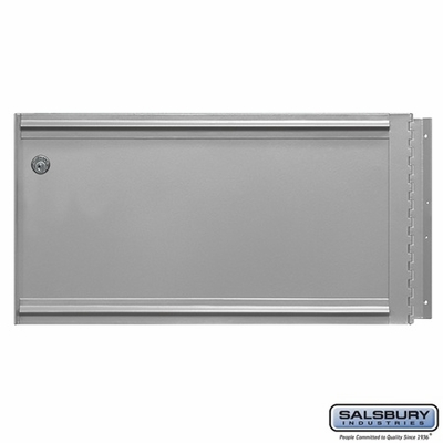 Salsbury 2285 Rear Cover - Locking - for Aluminum Drop Box -