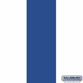 Salsbury 3125BL Rear Cover - for Rotary Mail Center - Blue