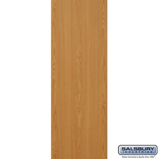 Salsbury 3125OK Rear Cover - for Rotary Mail Center - Oak
