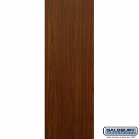 Salsbury 3125WA Rear Cover - for Rotary Mail Center - Walnut