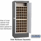 Salsbury 3150SLP Rotary Mail Center - Brass Style - Slate - Private Access