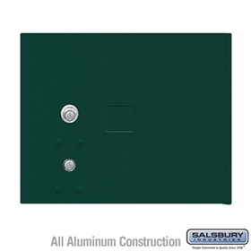 Salsbury 3353GRN Replacement Parcel Locker Door and Tenant Lock for Cluster Box Unit