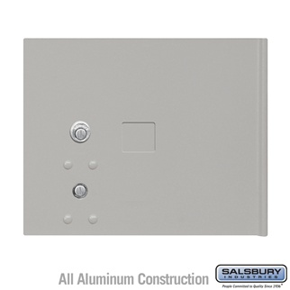 Salsbury 3353GRY Replacement Parcel Locker Door and Tenant Lock for Cluster Box Unit