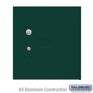Salsbury 3354GRN Replacement Parcel Locker Door and Tenant Lock for Cluster Box Unit