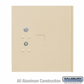 Salsbury 3354SAN Replacement Parcel Locker Door and Tenant Lock for Cluster Box Unit