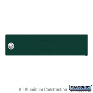 Salsbury 3451GRN 4C Pedestal Mailboxes Replacement Door
