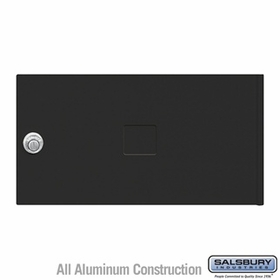 Salsbury 3452BLK 4C Pedestal Mailboxes Replacement Door