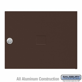 Salsbury 3453BRZ 4C Pedestal Mailboxes Replacement Door