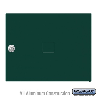 Salsbury 3453GRN 4C Pedestal Mailboxes Replacement Door