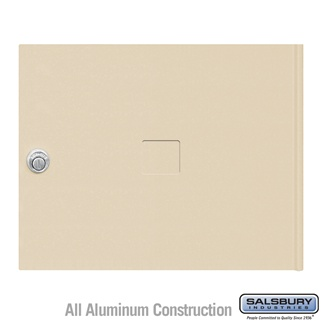 Salsbury 3453SAN 4C Pedestal Mailboxes Replacement Door