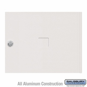 Salsbury 3453WHT 4C Pedestal Mailboxes Replacement Door