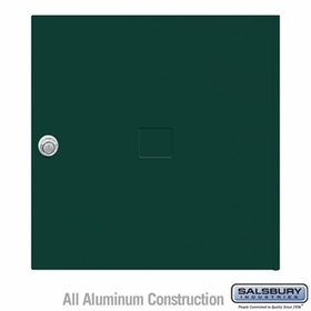 Salsbury 3454GRN 4C Pedestal Mailboxes Replacement Door