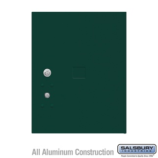 Salsbury 3455GRN 4C Pedestal Mailboxes Replacement Door