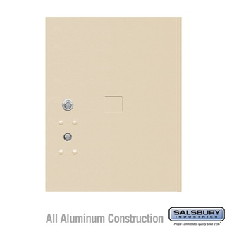 Salsbury 3455SAN 4C Pedestal Mailboxes Replacement Door