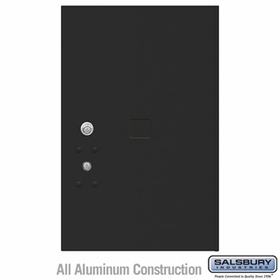 Salsbury 3456BLK 4C Pedestal Mailboxes Replacement Door