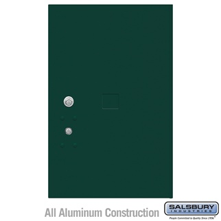 Salsbury 3456GRN 4C Pedestal Mailboxes Replacement Door