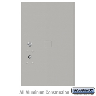 Salsbury 3456GRY 4C Pedestal Mailboxes Replacement Door