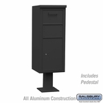Salsbury 3475BLK Collection Box Large