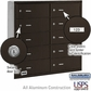 Salsbury 3610ZRU 4B Mailboxes 9 Tenant Doors Rear Loading - USPS Access