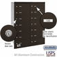 Salsbury 3614ZRU 4B Mailboxes 14 Tenant Doors Rear Loading - USPS Access