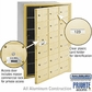 Salsbury 3618SFP 4B Mailboxes 17 Tenant Doors Front Loading - Private Access