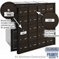 Salsbury 3620ZFP 4B Mailboxes 19 Tenant Doors Front Loading - Private Access