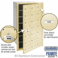 Salsbury 3621SFP 4B Mailboxes 20 Tenant Doors Front Loading - Private Access