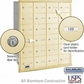 Salsbury 3624SRU 4B Mailboxes 23 Tenant Doors Rear Loading - USPS Access