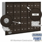 Salsbury 3625ZRP 4B Mailboxes 24 Tenant Doors Rear Loading - Private Access