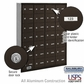 Salsbury 3628ZRU 4B Mailboxes 27 Tenant Doors Rear Loading - USPS Access