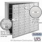 Salsbury 3630AFU 4B Mailboxes 29 Tenant Doors Front Loading - USPS Access