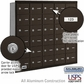 Salsbury 3630ZRU 4B Mailboxes 29 Tenant Doors Rear Loading - USPS Access