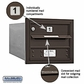 Salsbury 3703S-01ZRU 4C Mailboxes 1 Tenant Doors Rear Loading