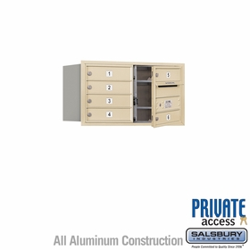 Salsbury 3704D-06SFP 4C Mailboxes 6 Tenant Doors Front Loading