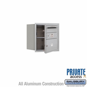 Salsbury 3704S-01AFP 4C Mailboxes 1 Tenant Doors Front Loading