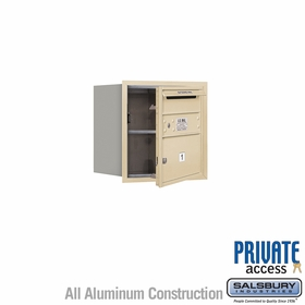 Salsbury 3704S-01SFP 4C Mailboxes 1 Tenant Doors Front Loading