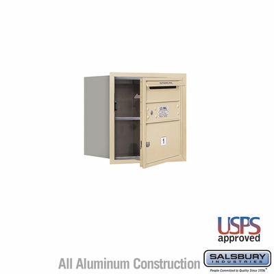 Salsbury 3704S-01SFU 4C Mailboxes 1 Tenant Doors Front Loading