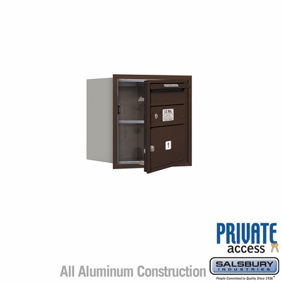 Salsbury 3704S-01ZFP 4C Mailboxes 1 Tenant Doors Front Loading