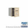 Salsbury 3704S-02SFP 4C Mailboxes 2 Tenant Doors Front Loading