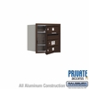 Salsbury 3704S-02ZFP 4C Mailboxes 2 Tenant Doors Front Loading