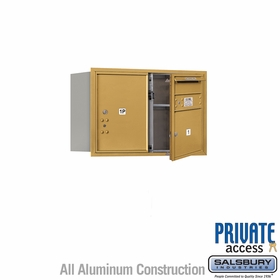 Salsbury 3705D-01GFP 4C Mailboxes 1 Tenant Doors Front Loading