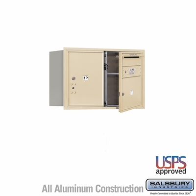 Salsbury 3705D-01SFU 4C Mailboxes 1 Tenant Doors Front Loading