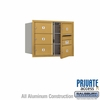 Salsbury 3706D-05GFP 4C Mailboxes 5 Tenant Doors Front Loading