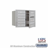 Salsbury 3706D-09AFU 4C Mailboxes 9 Tenant Doors Front Loading