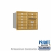 Salsbury 3706D-10GRP 4C Mailboxes 10 Tenant Doors Rear Loading