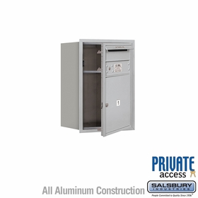 Salsbury 3706S-01AFP 4C Mailboxes 1 Tenant Doors Front Loading